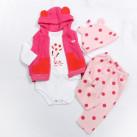 Комплект одежды для куклы (рост 55-60 см.) арт. 021