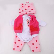 Комплект одежды для куклы (рост 42-48 см.) арт. 008