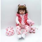 Кукла Катюша 48 см Reborn арт. 102