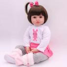 Кукла Ангелина 48 см Reborn арт. 107