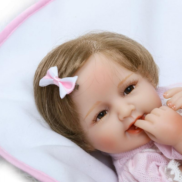 Кукла Лера Реборн 40 см арт 111