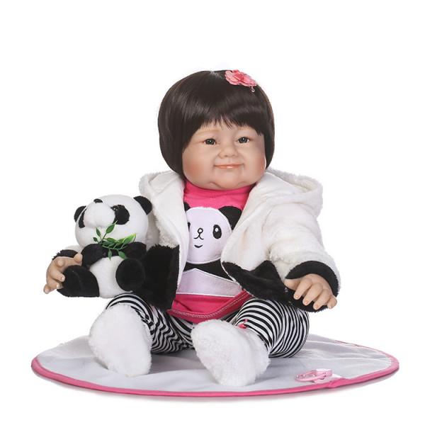Кукла Алсу 55 см. Reborn арт. 259