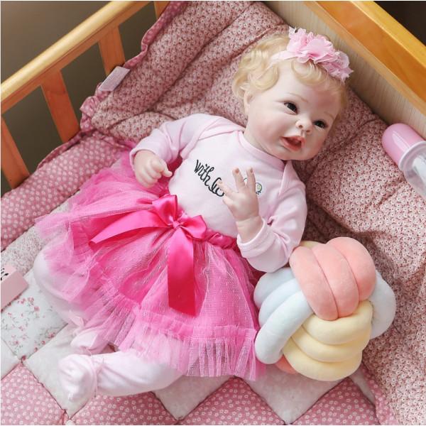 Кукла Тася 50 см. Reborn арт. 287