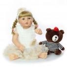 Кукла Настенька 58 см. Reborn арт. 309