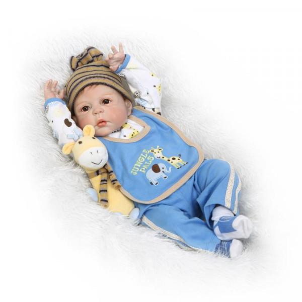Кукла Вовочка 58 см. Reborn арт. 338