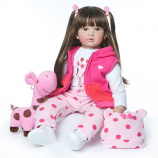 Кукла Эльвира 60 см. Reborn арт. 417