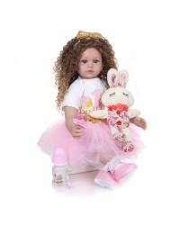 Кукла Тея 60 см. Reborn арт. 469