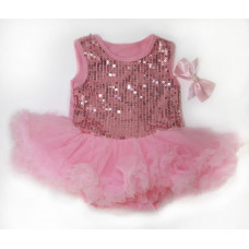 Платье для куклы (рост 55-60 см.) арт. 049